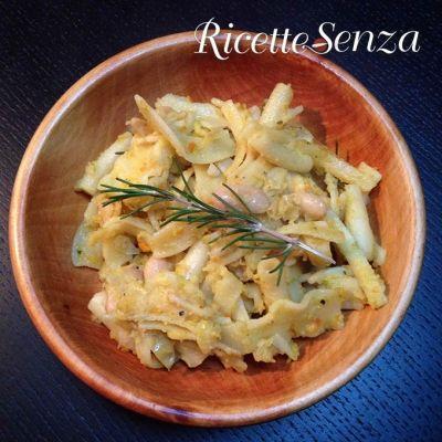pasta e fagioli asciutta vegan http://www.ricettesenza.it/le-ricette/item/211-pasta-e-fagioli-asciutta-alla-toscana-senza-carne.html