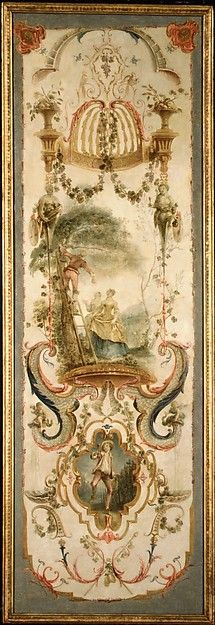 Follower of Antoine Watteau (French,1684–1721). September and October (part of a set illustrating the months of the year), second quarter of the 18th century. The Metropolitan Museum of Art, New York.  Purchase, Joseph Pulitzer Bequest, 1922 (22.225.3)