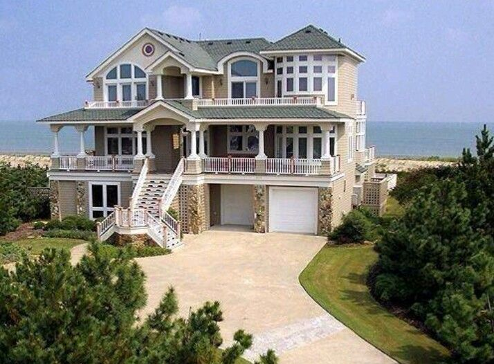 Big Nice House On The Beach 247 best beach houses images on pinterest | beach homes, beautiful
