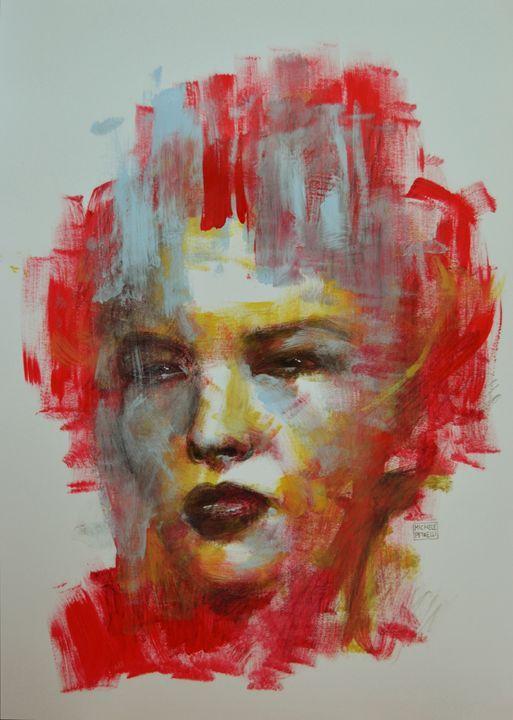 Chinese woman - Michele Petrelli Painter