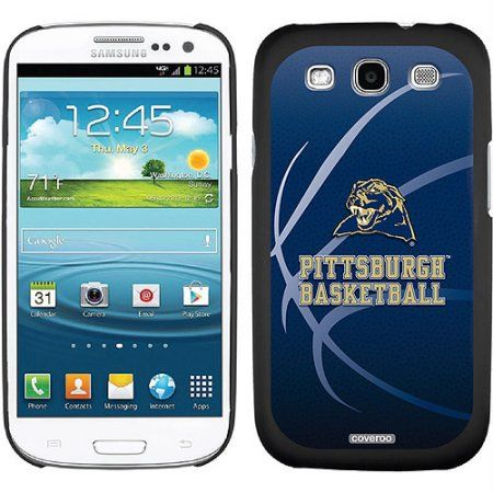 University of Pittsburgh Basketball Design on Samsung Galaxy S3 Thinshield Case by Coveroo