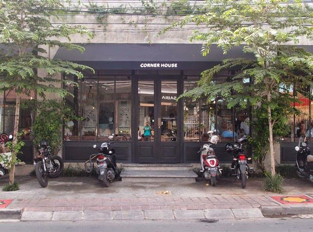Corner House Bali Jalan Laksmana no.10 A Phone number: +62 (0) 361 730276 Opening Hours: Every day from 7am to 12pm