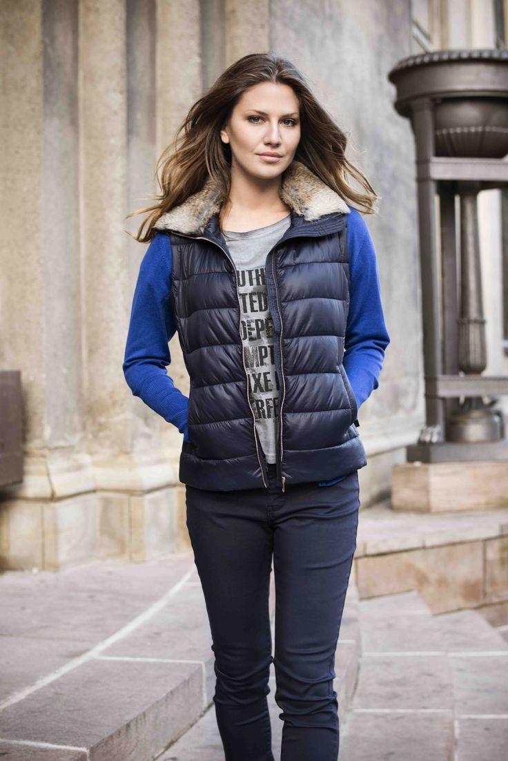 soyaconcept - knit - cardigan - waistecoat - jacket - fur - pants - jeans