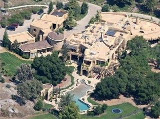 Will Smith  The Fresh Prince renovated this Calabasas castle. It has its own lake. Mr. and Mrs. It has it's own full-sized basketball and tennis courts too!