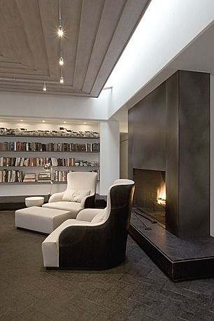 Great Contemporary Living Room Pchhomeremodeling