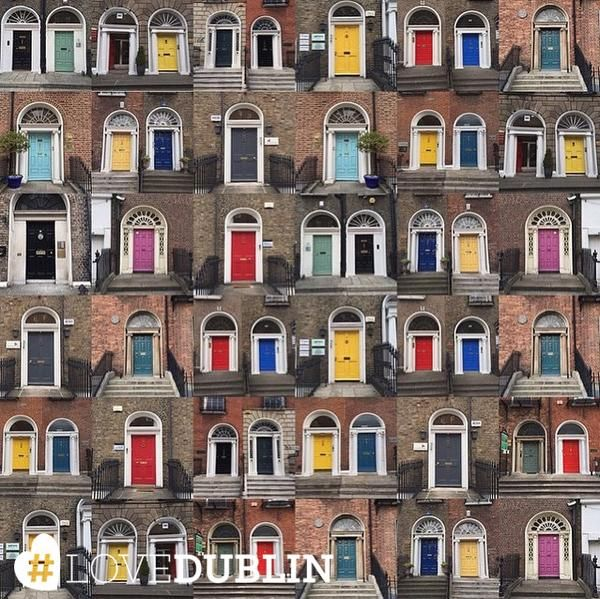 You might not be able to step through all @thedoorsofdublin but you can share your photos of them using #LoveDublin! #love #Dublin #vsco #vscocam #travel  #photoftheday #pic #picoftheday #ff #tip #ireland #photo #art #photography #artist