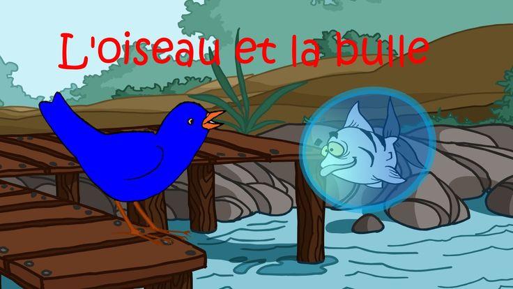 """Un poisson au fond d'un étang - """"L'oiseau et la bulle"""""""