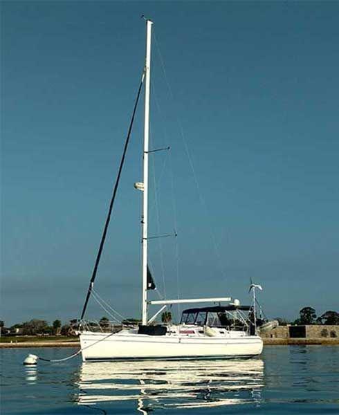 38 Hunter Sail Yacht Just Breathe