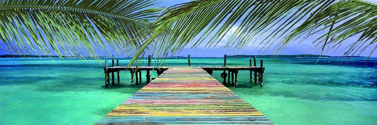 Rainbow Dock - Steve Vaughn Photography — really nice photos on canvas.
