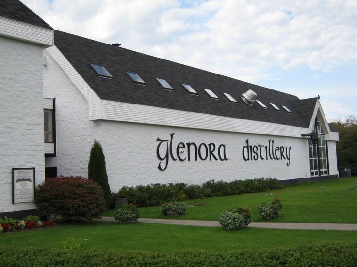 Glenora Distillery, Glenville, Cape Breton, Nova Scotia