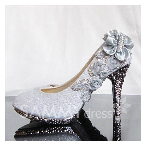$21.11 New Arrival Elegant and Dignity Rhinestone Embellished Wedding Shoes For Brides