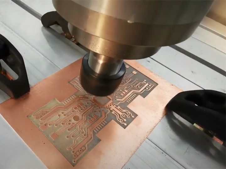 Small CNC Router Machine for PCB (Printed Circuit Board ...