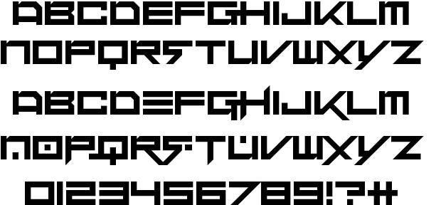 Dubstep heroes font by Darrell Flood  http://www.fontriver.com/font/dubstep_heroes/  #techno #fonts #scifi #type #typography #ttf #design #webdesign #font #typeface #lettering