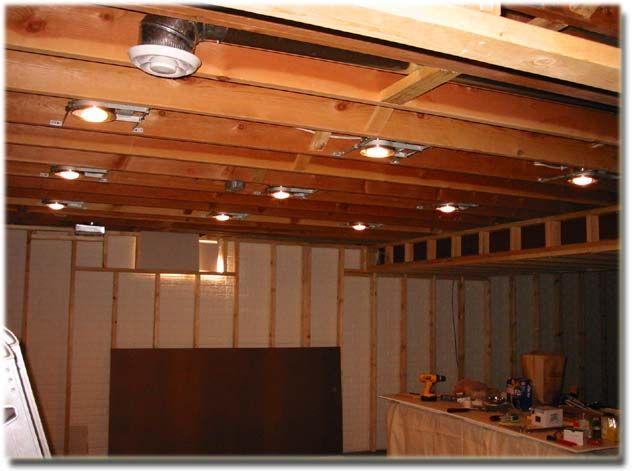 Basement Lighting House Projects Pinterest Basement