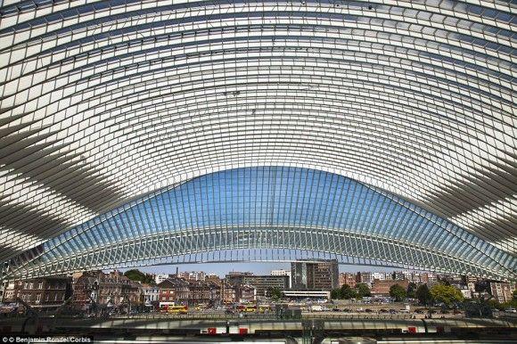 ベルギー リエージュ・ギユマン駅