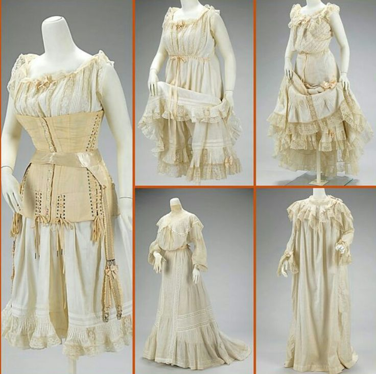 18 piece essential set for a wedding day and night, 1903 ...