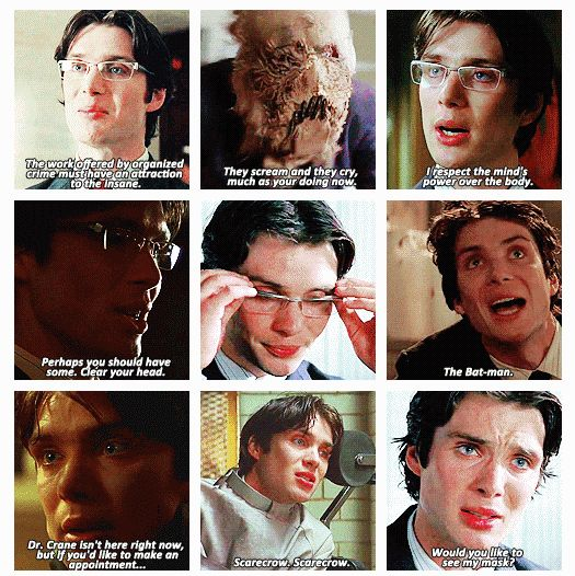 Cillian Murphy as Dr. Jonathan Crane/The Scarecrow, Batman Begin....... LEGEND