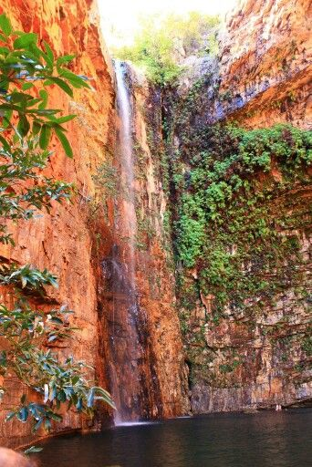 Emma Gorge waterfall, Gibb River Road WA