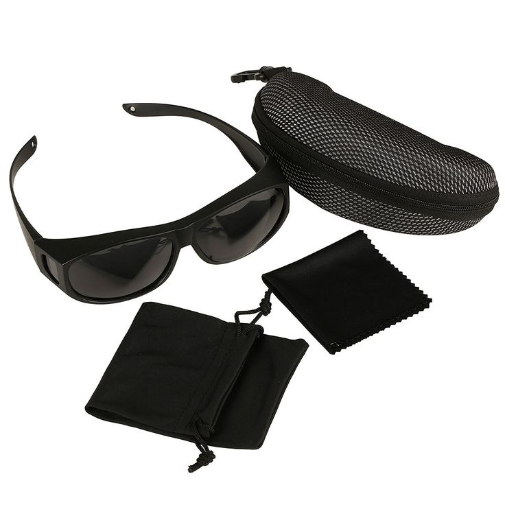 sunglasses on glasses hi8e  Wear Over Sunglasses Polarized Lens