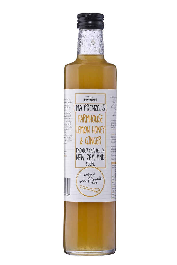 Ma Prenzel Lemon Honey & Ginger   www.prenzel.com