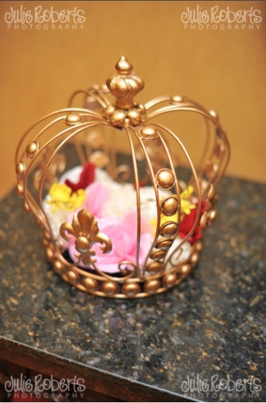 116 Best Decorative Crown Centerpieces And Blinged Out