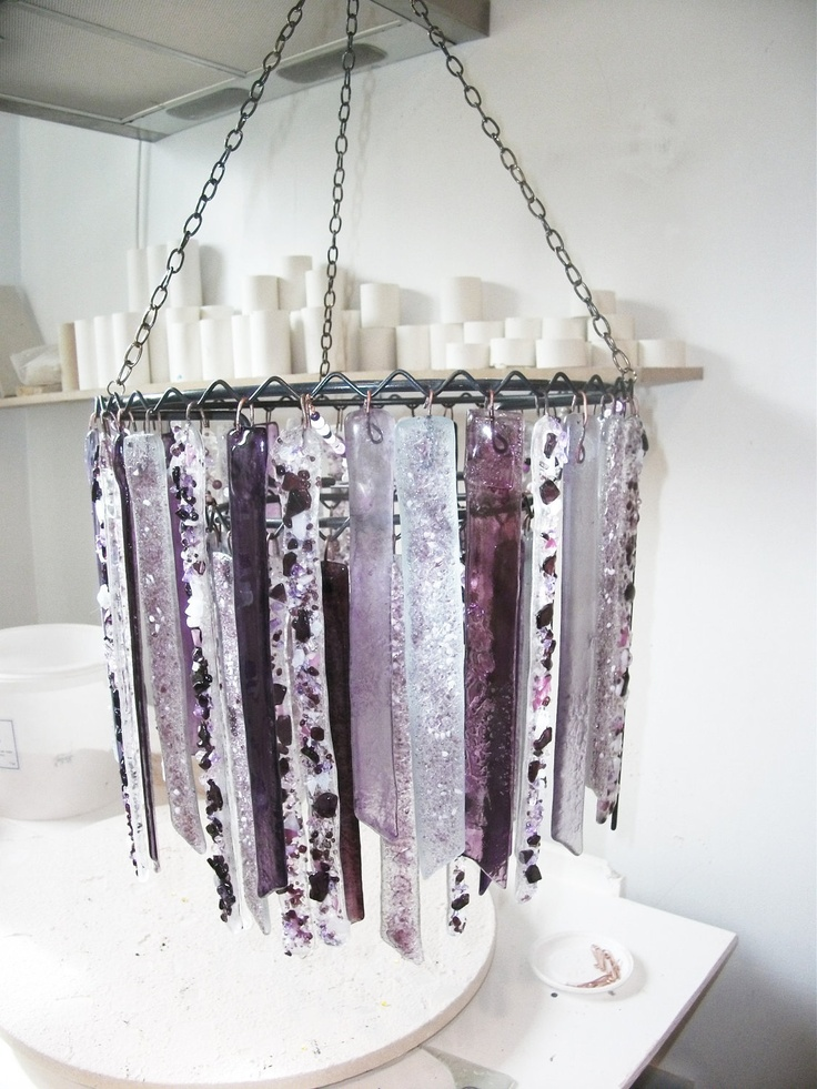 Recycled glass baby chandelier in Lilac and Purple. £225.00, via Etsy.: Baby Chandelier, Baby Cuteness, Recycled Glass, Lilac, Glass Cleaners, Baby Girl, Nuts Glass, Glass Baby