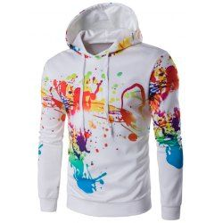 SHARE & Get it FREE | Hooded Colorful Splash-Ink Print Long Sleeve HoodieFor Fashion Lovers only:80,000+ Items • FREE SHIPPING Join Nastydress: Get YOUR $50 NOW!