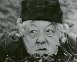 Miss Marple. Margaret Rutherford.