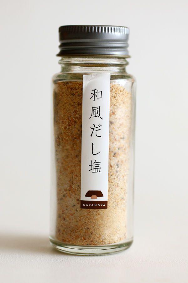 """""""久原本家""""の和風だし塩"""