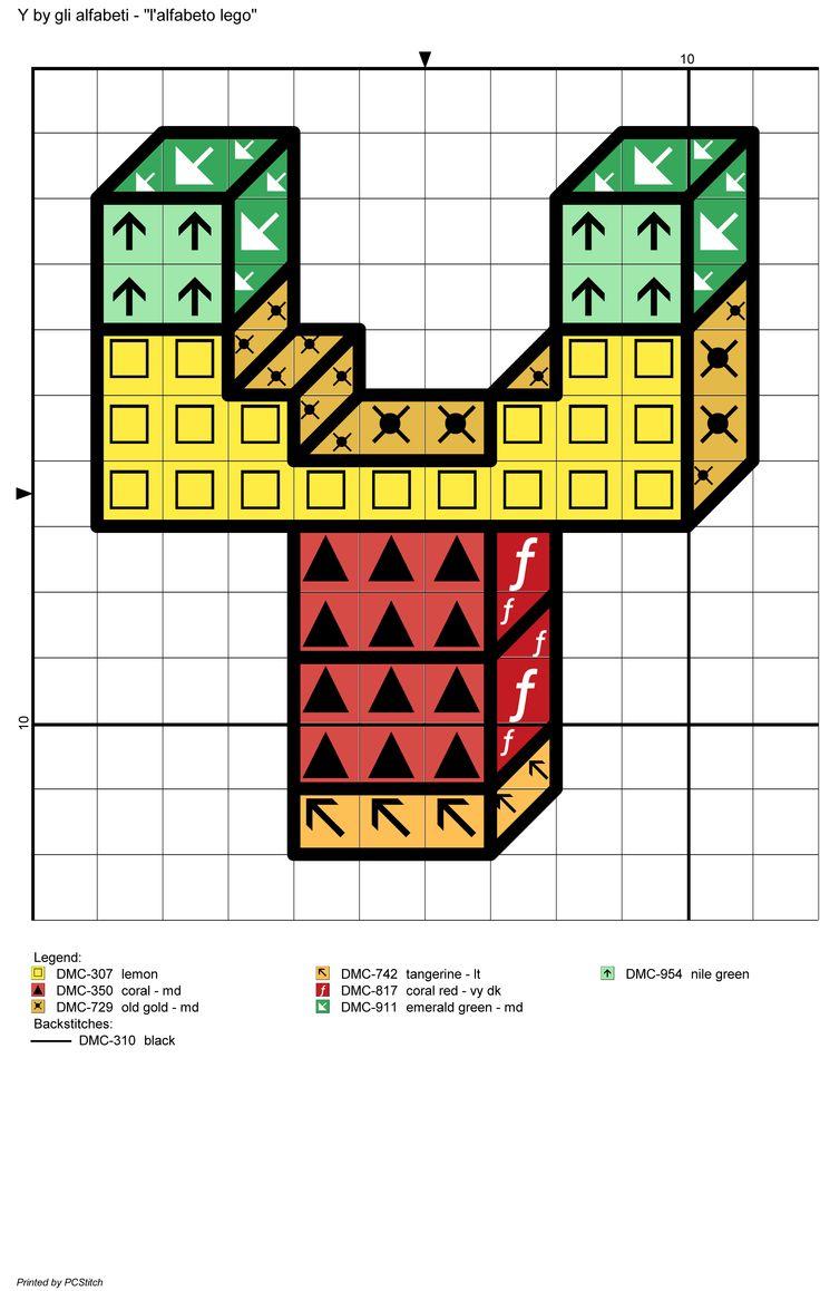 alfabeto lego: Y