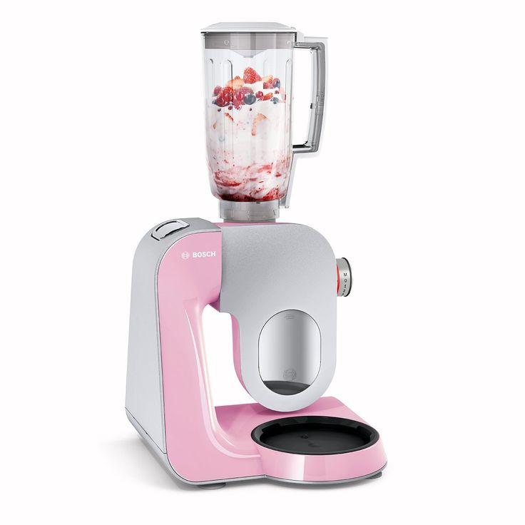 PinkKitchen Colourworks Mittelgroße Melamin-Rührschüssel, 3 Liter - bosch mum küchenmaschine