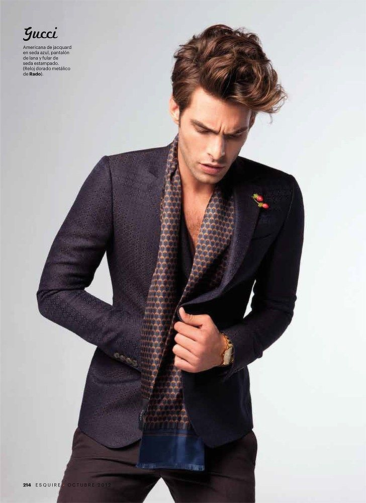 Jon Kortajarena Dons Collections for Esquire España