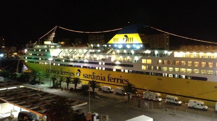 Toulon départ pour Bastia
