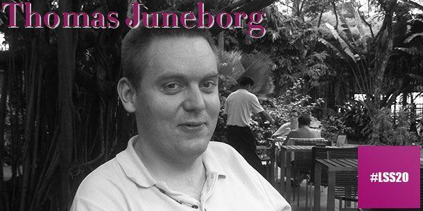 """Thomas Juneborg är ordförande för VIMPA. Hans uppfattning är att """"LSS är en förutsättning för att vi ska kunna leva som andra"""".  Läs mer om våra föreläsare och vårt program på http://www.lss20.se/"""
