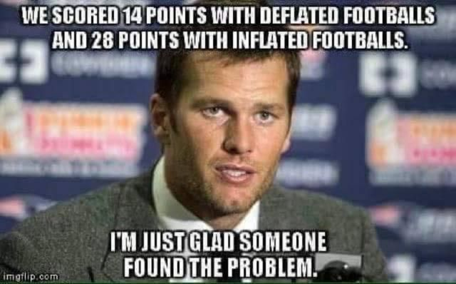 The Best New England Patriots #DeflateGate Memes: The Best DeflateGate Memes