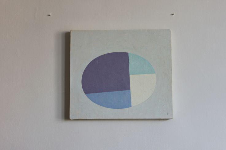 27_7_85 by Ian Fraser 1985 oil on canvas