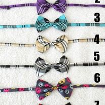 """Ensure your little gentleman looks better than ever. *New designed with double bows, stylish and colorful high quality satin ties. *Adjustable length up to 20"""" inches long. * Best suited for babies, toddlers and up to age 6. * All products made from smoke free and pet free environment. *Enjo..."""