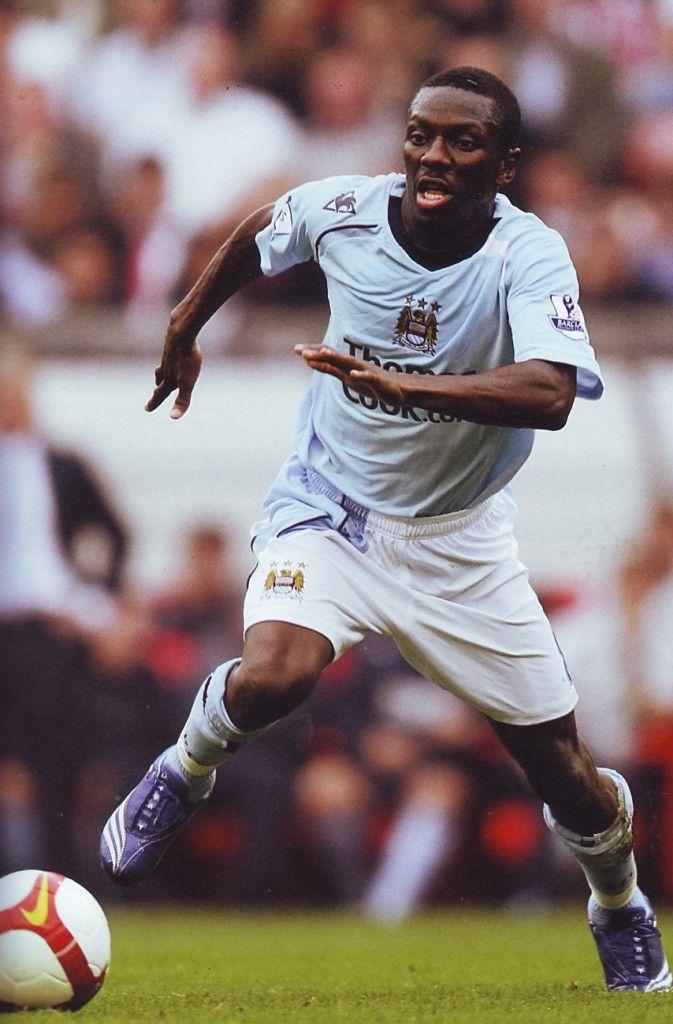 Shaun Wright-Phillips of Man City in 2008.