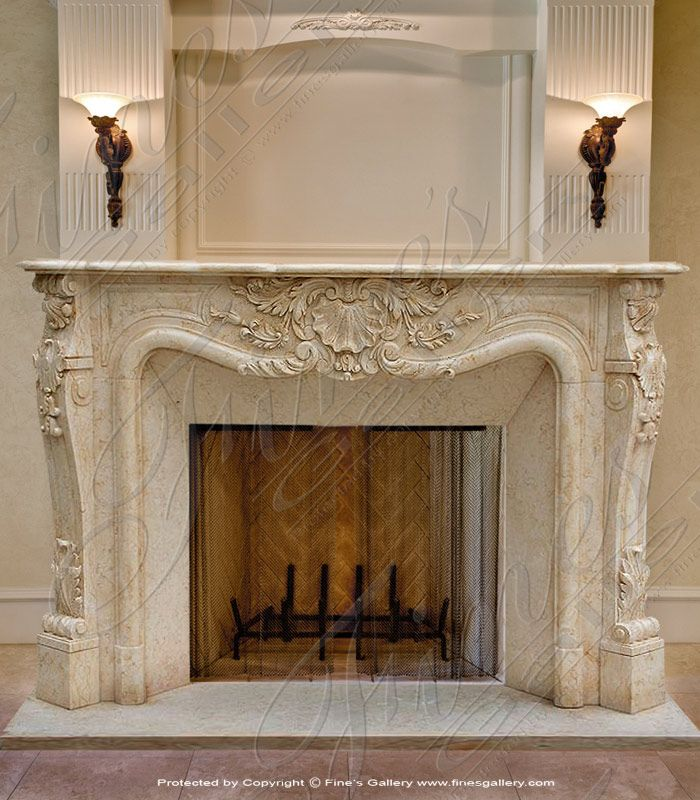 Pin By Lanna Sharp On French Style Mantels Pinterest