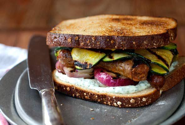 The Man Sandwich from the lovely Sarah Copeland http://pinterest.com/edibleliving/