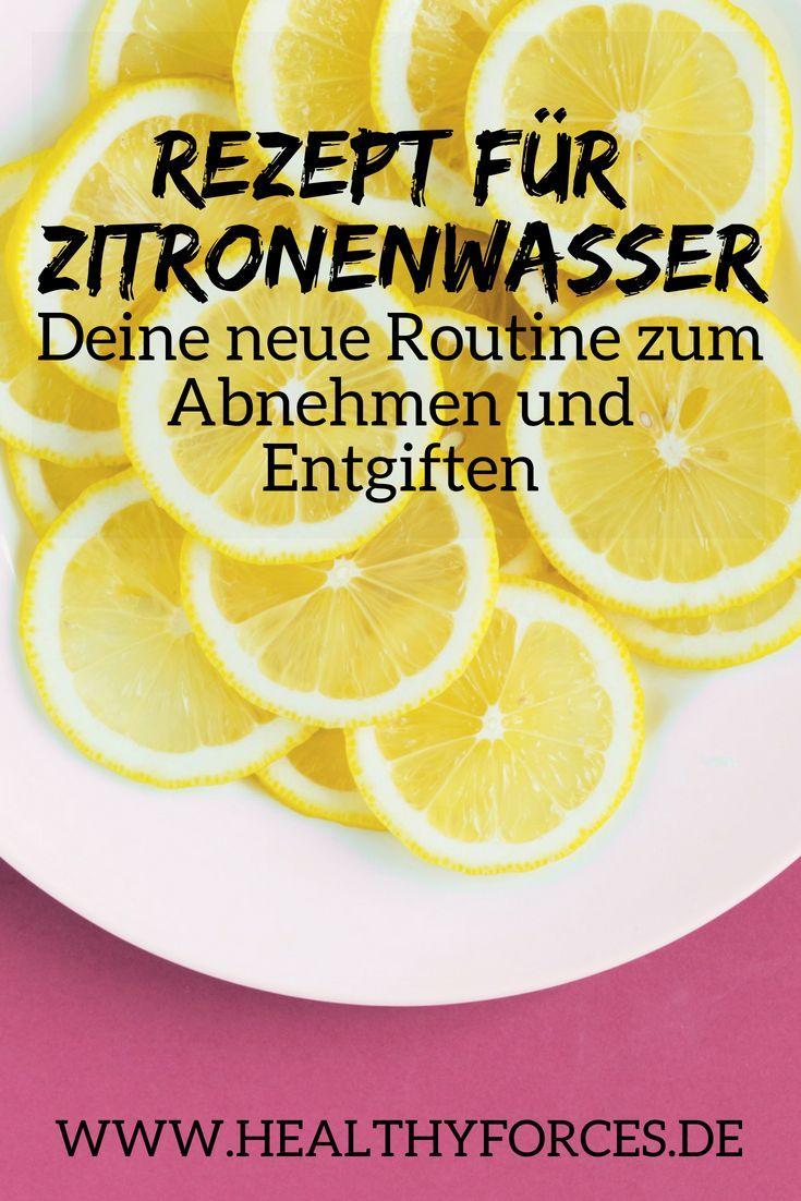 Zitronenwasser in der Nacht, um Gewicht zu verlieren