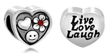 #charmbracelets #charms #jewelry #jewellery #pandora #pandorabracelet #livelovelaugh Pugster #Heart Cute Smile #Flower Love All Brand Silver Plated Beads Charms Bracelets $8.49 on sale