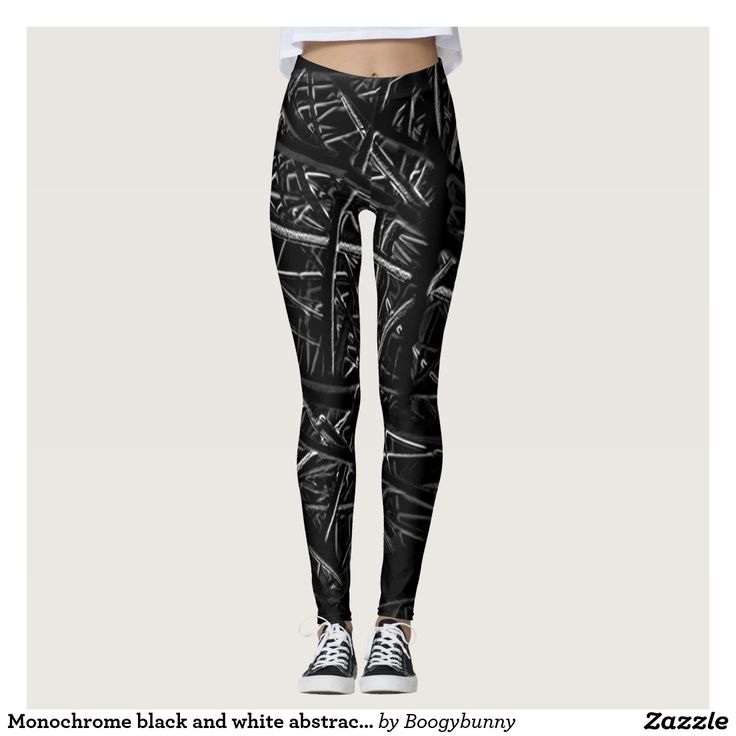 Monochrome black and white abstract pattern