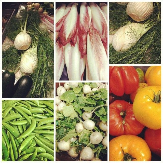 As the days get nicer, so does the ingredients. Andiamo summer... #buylocal #yyjfood #Italiankitchen
