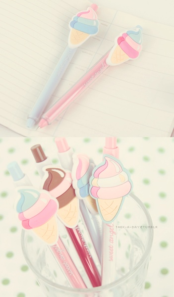 Omgoodness I need these Ice Cream pens