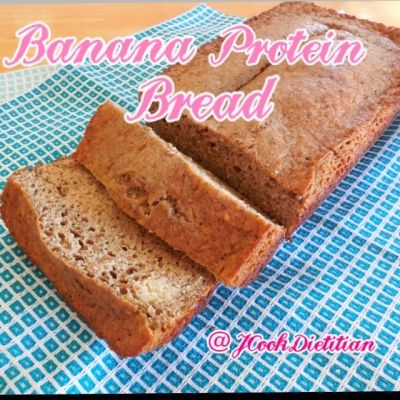 Ripped Recipes - Low Carb High Protein Clean Banana Bread - Delicious, satisfying banana bread without the guilt and calories!