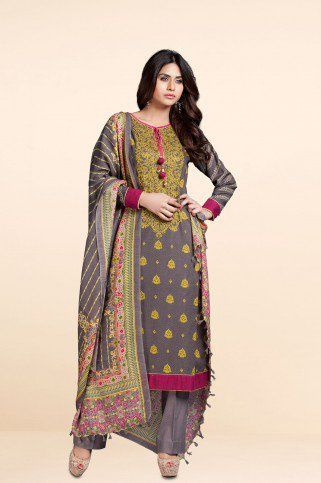 Winter 2014. One of my favourites from Kayseria unstitched collection.