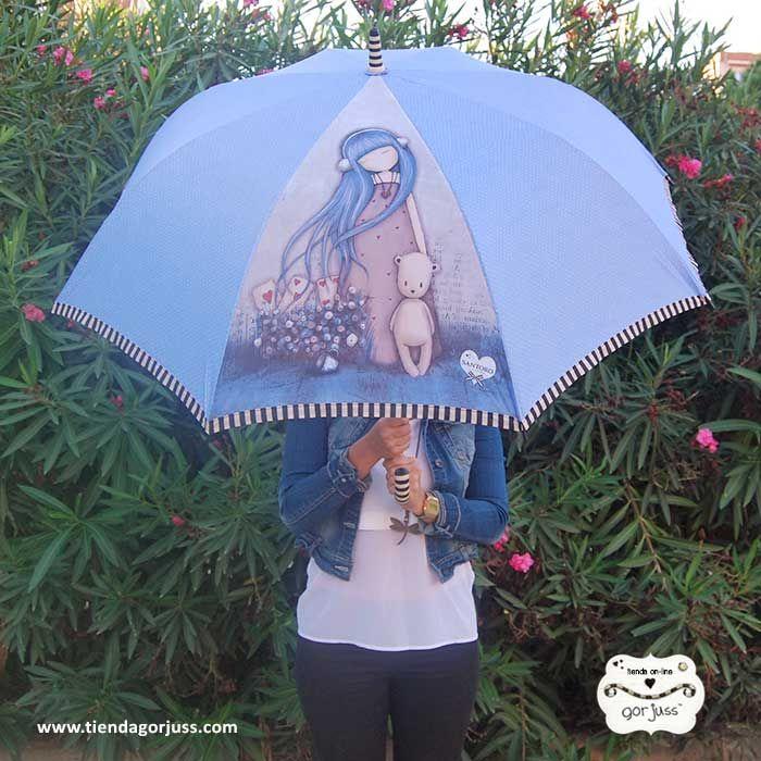 ¡Se avecinan días lluviosos y toca estrenar los nuevos #paraguas #Gorjuss! Todos los modelos aquí:  https://www.tiendagorjuss.com/