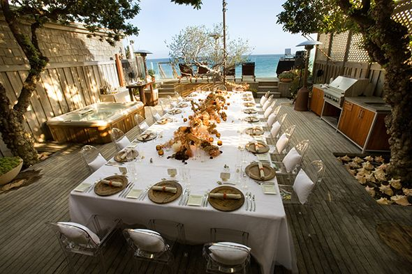 mountain rustic wedding table covers - Google Search