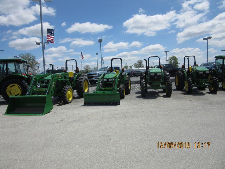 John Deere tractors r-l:5065E,5075E,4052M,5065E